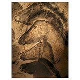 Cave paintings Wrapped Canvas Art
