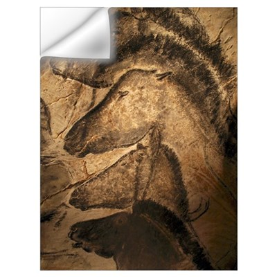 Stone-age cave paintings, Chauvet, France Wall Decal