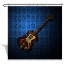KuuMa Guitar 04 (B) Shower Curtain