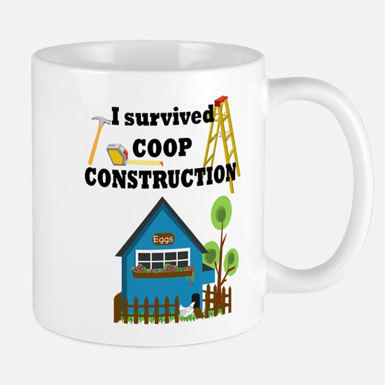 Survived Construction Mug