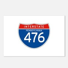 Interstate 476 - PA Postcards (Package of 8)