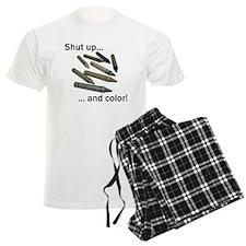 Shut up and color! Pajamas