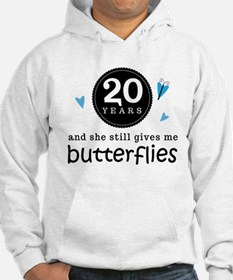 20 Year Anniversary Butterfly Hoodie