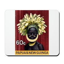 1968 Papua New Guinea Headress 60c Postage Stamp M