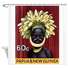 1968 Papua New Guinea Headress 60c Postage Stamp S