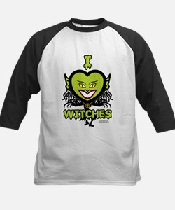 I Heart Witches Baseball Jersey
