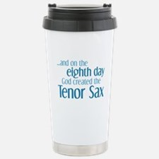 Tenor Sax Creation Stainless Steel Travel Mug