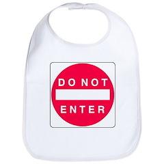 Do Not Enter Bib