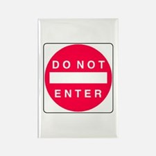 Do Not Enter Rectangle Magnet (100 pack)