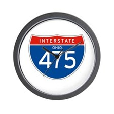 Interstate 475 - OH Wall Clock
