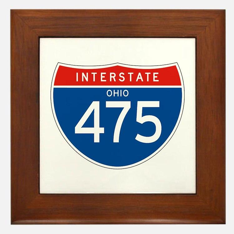 Interstate 475 - OH Framed Tile