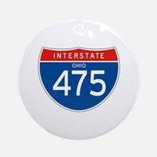 Interstate 475 - OH Ornament (Round)