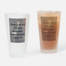 Penn - Passion Is the Mob Drinking Glass