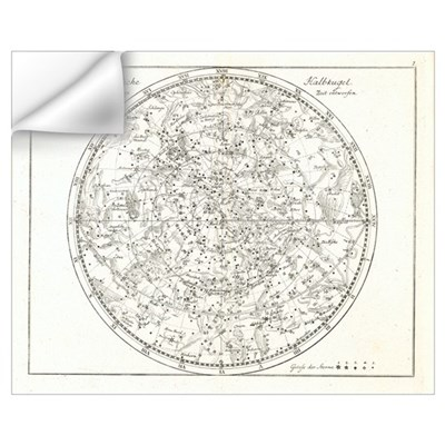 Star map, 1805 Wall Decal