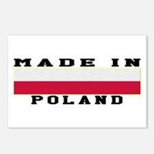 Poland Made In Postcards (Package of 8)