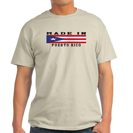 Puerto Rico Made In Light T-Shirt