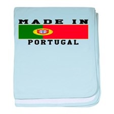Portugal Made In baby blanket