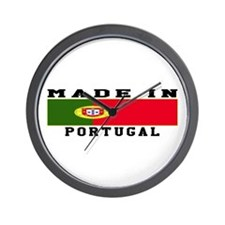 Portugal Made In Wall Clock