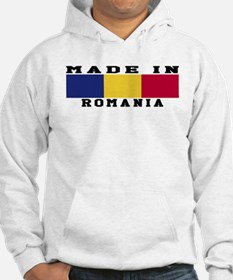 Romania Made In Hoodie