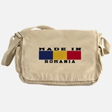 Romania Made In Messenger Bag