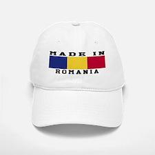 Romania Made In Baseball Baseball Cap