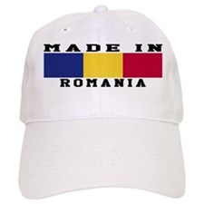 Romania Made In Baseball Cap