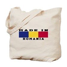 Romania Made In Tote Bag