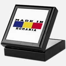 Romania Made In Keepsake Box