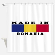 Romania Made In Shower Curtain