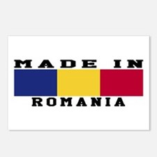 Romania Made In Postcards (Package of 8)