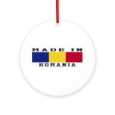Romania Made In Ornament (Round)