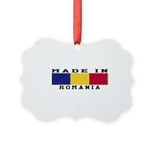 Romania Made In Ornament