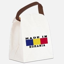 Romania Made In Canvas Lunch Bag
