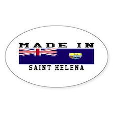 Saint Helena Made In Decal