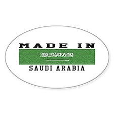 Saudi Arabia Made In Decal