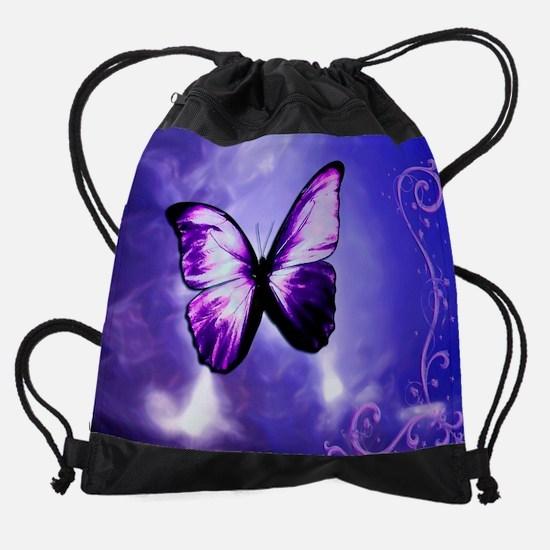 btrflyclndr.png Drawstring Bag
