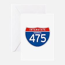 Interstate 475 - GA Greeting Cards (Pk of 10)