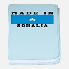 Somalia Made In baby blanket