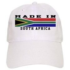 South Africa Made In Baseball Cap