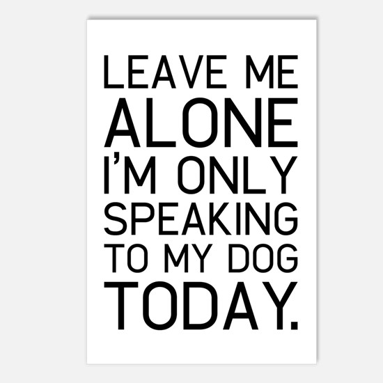 Only my dog understands. Postcards (Package of 8)