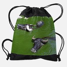 water_buffalo_calendar.jpg Drawstring Bag