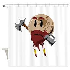 Pluto the Dwarf Planet Shower Curtain