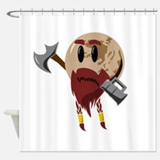 Pluto the Dwarf Planet Shower Curtain