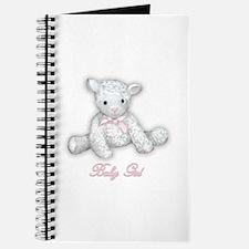Baby Girl Lamb Journal