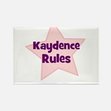 Kaydence Rules Rectangle Magnet