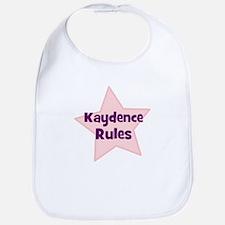 Kaydence Rules Bib