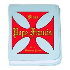 Pope Francis 2013 baby blanket