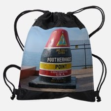 Southernmost point U.S.A. Drawstring Bag