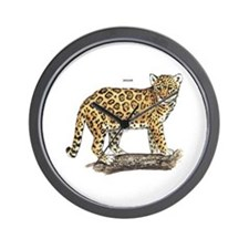 Jaguar Big Cat Wall Clock