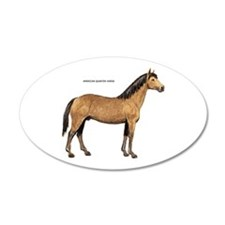 American Quarter Horse Wall Decal